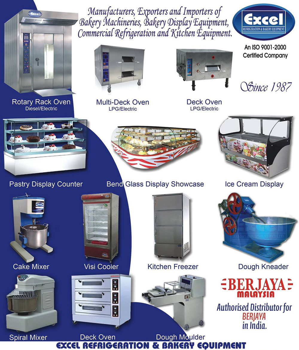 Excel Bakery Equipment India Brings The World Reno